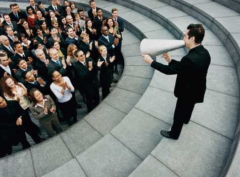 A nagy vezetők kommunikációs technikái