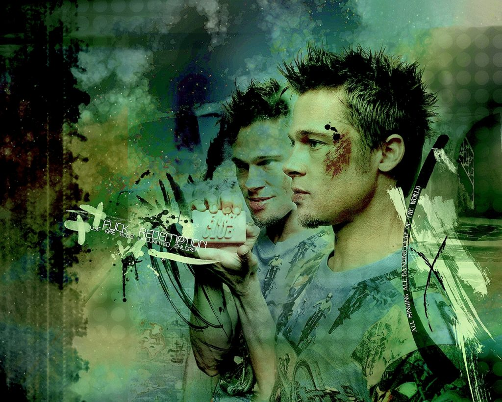 Brad Pitt Fight Club Wallpaper 6